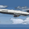 Caledonian Airlines DC-10 poster art